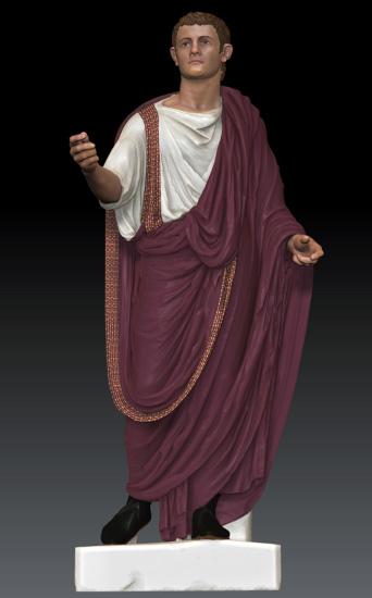 Portrait Statue Of Caligula By Peter Schertz Blackbird